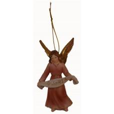 Gloriaengel stehend oder hängend 11cm aus Polyresin