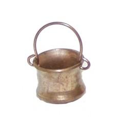 Kupferkessel aus Metall klein