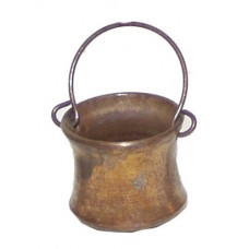 Kupferkessel aus Metall groß