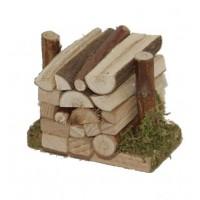 Holzstoß mini