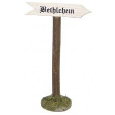 Wegweiser nach Bethlehem
